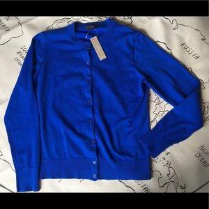 J Crew Cotton Jackie Cardigan Sweater